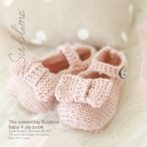 616 - The irresistibly Sublime baby 4 ply book